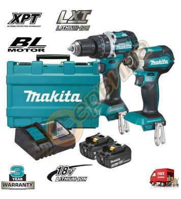 Комплект акумулаторни машини Makita DLX2180X - 18V/3.0Ah Li-