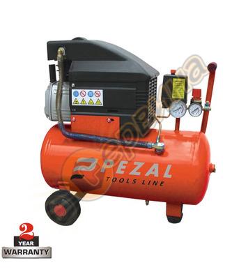 Маслен компресор Pezal PKTS2.0-24B-H 104319 - 24л / 8бара