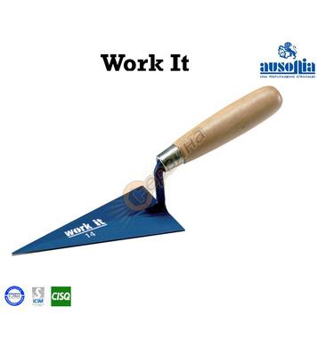 Мистрия за зидария с дървена дръжка Work-It Ausonia AU41126