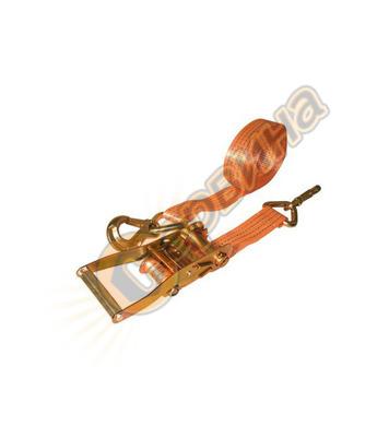 Обтяжен колан с тресчотен механизъм и куки Vintec 8м 78013