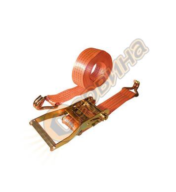 Обтяжен колан с тресчотен механизъм и куки Vintec 8м 78011