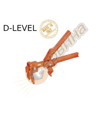 Пластмасови клещи за система за изравняване на плочки D-Leve