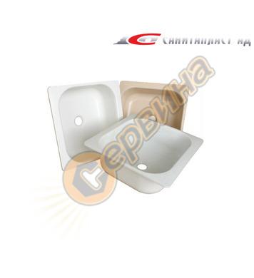 Пластмасова мивка Санитапласт 3550001 - бяла