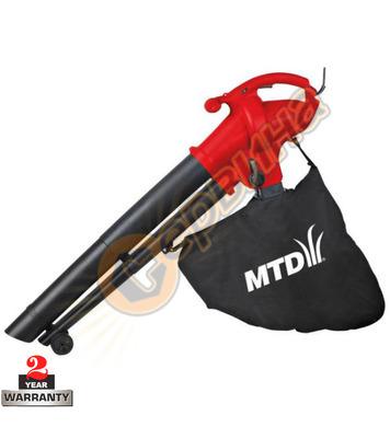 Електрическа метла-листосъбирач MTD BV 2500 E 12319 - 2500W