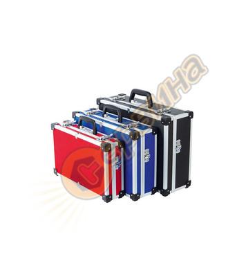 Алуминиев куфар VINTEC 73503 - син/червен/черен