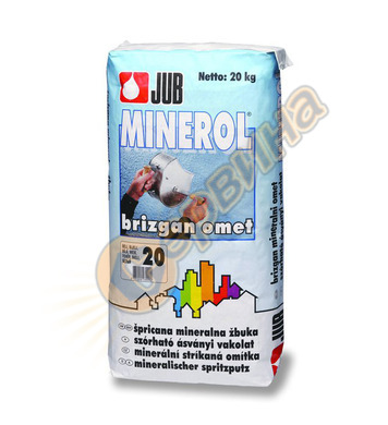 Минерална декоративна пръскана фасадна мазилка JUB Minerol J