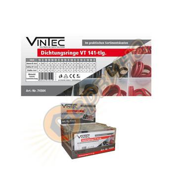 Комплект уплътнители  Vintec 141 части  74504