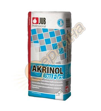 Еластично лепило за плочки JUB Akrinol Uniflex J180 - 25кг