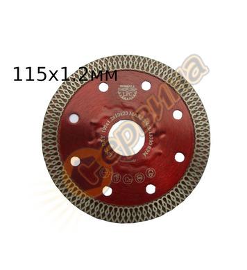 Диамантен диск Siri LPC-115 115x1.2x22,2мм - порцелан, грани