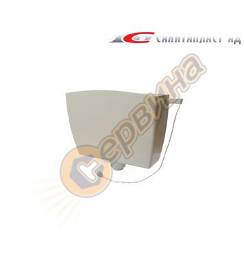 Стенно тоалетно казанче Санитапласт- високо поставяне SA003