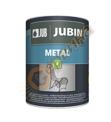 Антикорозионна акрилна боя за метал - бяла JUB Jubin Metal J