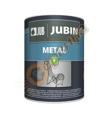 Антикорозионна акрилна боя за метал - сребро JUB Jubin Metal