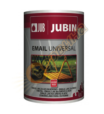 Алкидна боя за дърво и метал - жълта JUB Jubin Email Univers