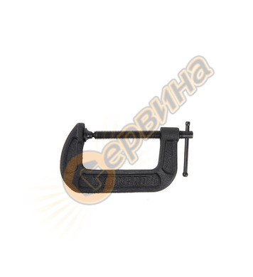 Винтова C-образна стяга Workpro 76мм 3