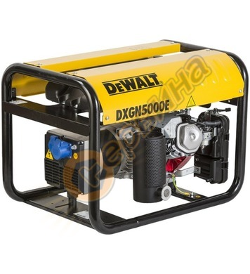 Бензинов генератор DeWalt DXGN5000E PE402SHI01F - 3.9KW /4.2