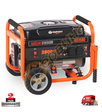 Бензинов генератор Daewoo GD3500 - 2500W/2800W