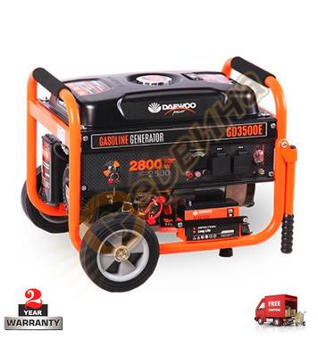 Бензинов генератор Daewoo GD3500E - 2500W/2800W