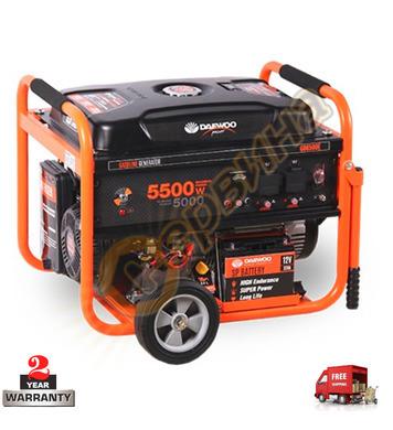 Бензинов генератор Daewoo GD6500E - 5000W/5500W