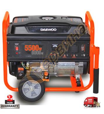 Бензинов генератор Daewoo GD6500 - 5000W/5500W