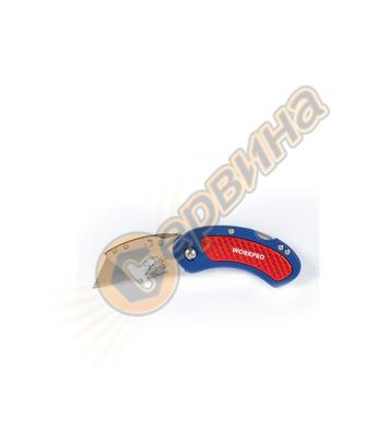 Мини Сгъваем Макетен нож Workpro W011003