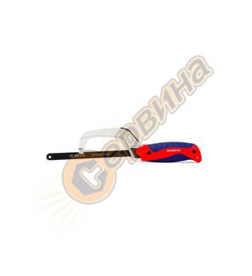 Мини Ножовка с алуминиева рамка Workpro 250мм W016003