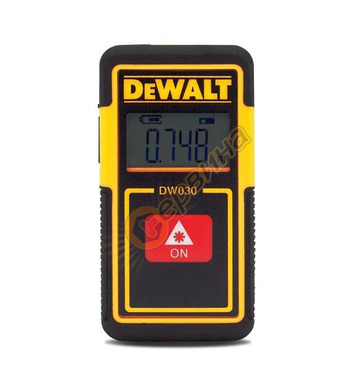 Лазерна ролетка DeWalt DW030PL - 9м