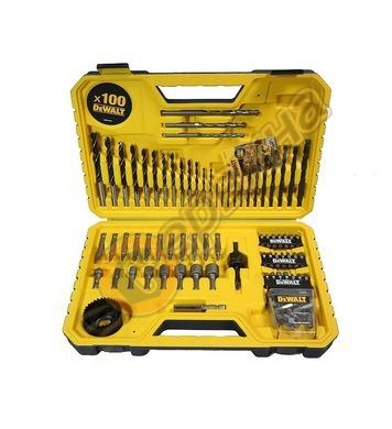 Комплект накрайници в кутия DeWalt DT71563 - 100бр