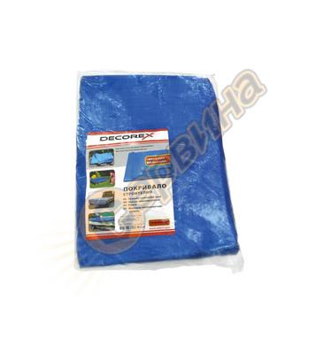 Водоустойчиво покривало-платнище Decorex 5x8м D32603 105гр