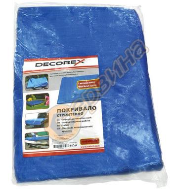 Водоустойчиво покривало - платнище Decorex 5x8м D15207 80гр.