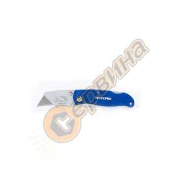 Сгъваем Макетен нож  Workpro W011001