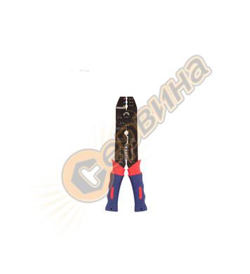 Клещи за кабелни обувки и оголване на кабели  WORKPRO W09100