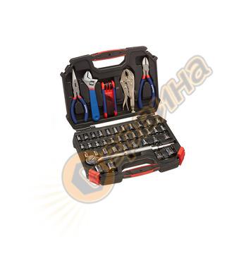 Комплект инструменти в куфар Workpro 52 части  W003020