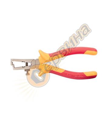 Изолирани Клещи за оголване на кабели Workpro 160мм W095004