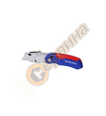 Сгъваем Макетен нож  Workpro W011017