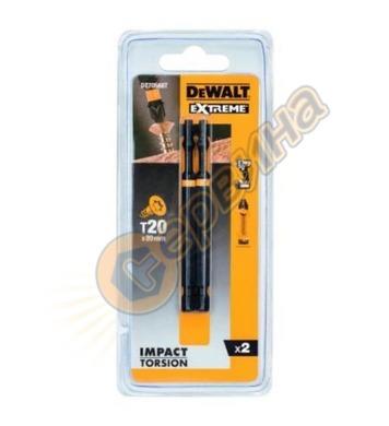 Комплект накрайници-битове DeWalt DT70568T - 2бр