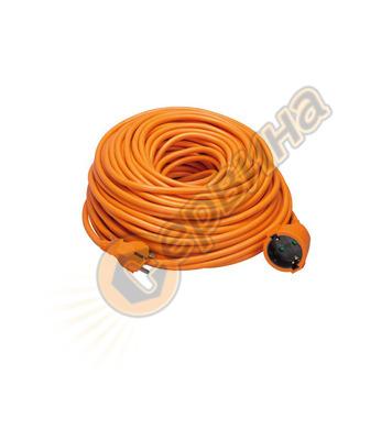 Удължител с кабел Perel 40м EC40-G