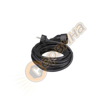 Удължител с кабел Perel 10м EC10B