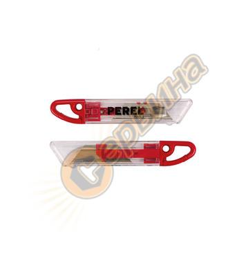 Листов нож с автоматично прибиране на острието  Perel HK09