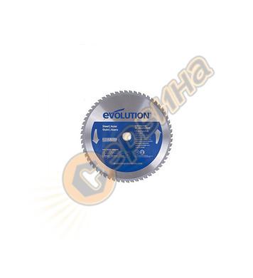 TCT диск за рязане на стомана Evolution 305мм   60TBLADE12