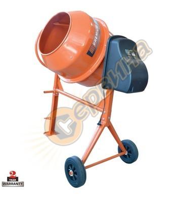 Бетонобъркачка - миксер за бетон Premium 180л 25631 - 800W