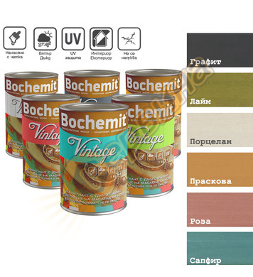Импрегнант за обработка на дървени повърхности Bochemit Vint