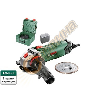 Ъглошлайф Bosch PWS 850-125 06033A2704 - 850W
