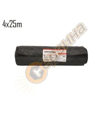 Покривен найлон вторичен Decorex 06040425-II 25м х 4м - 50 м