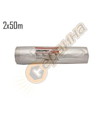Покривен найлон първичен Decorex 06040250-I 50м х 2м - 50 ми