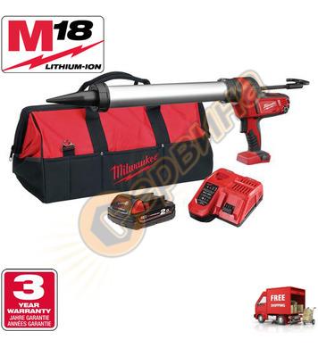 Акумулаторен пистолет за силикон Milwaukee C18PCG/600A-201B