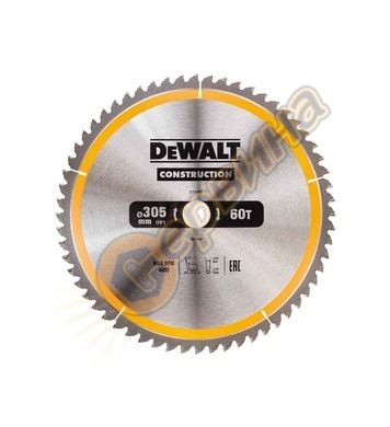 Диск за дърво - циркуляр DeWalt 305x30.0мм DT1960