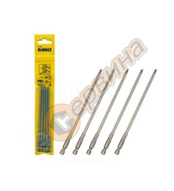 Комплект накрайници-битове за гипскартон DeWalt DT7206 - 5бр