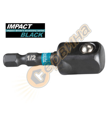 Адаптер за вложки 1/2 Makita Impact BLACK B-66874 - 50мм