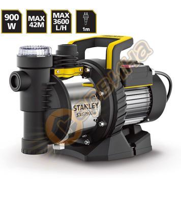 Градинска едностъпална центробежна помпа Stanley SXGP900XFE