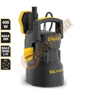 Потопяема дренажна помпа Stanley SXUP400PCE - 400W 9000л/час